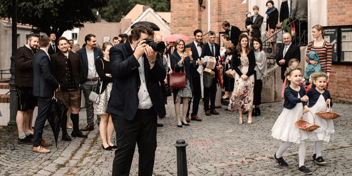 Hochzeits-Fotograf, landshut at work